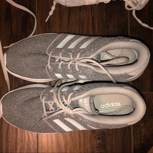 adidas running shoes. size 9 . worn once